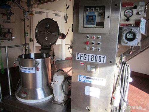 Used- Rousselet / Robatel Basket Centrifuge, Model RC50VXR