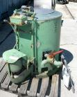 Used- Hoffman Perforated Basket Centrifuge, Model 7020, Type BAA, Monel Construction. 20
