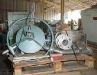 Used- Stainless Steel Rousselet Perforated Basket Centrifuge, Model SC85-3KSAR