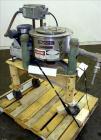 USED- Stainless Steel Tolhurst Perforated Basket Centrifuge, Model 12