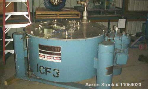 Used-Tolhurst Ametek Basket/Batch Center-Slung Centrifuge