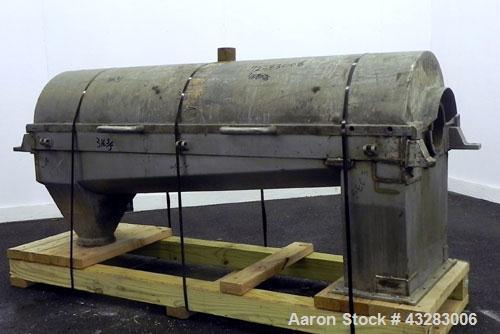 Used- Stainless Steel Alfa Laval NX-418 Top Cover & Lower Casing