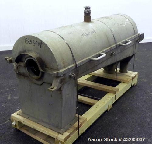 Used- Alfa Laval NX-418 Top Cover & Lower Casing. 316 Stainless Steel.