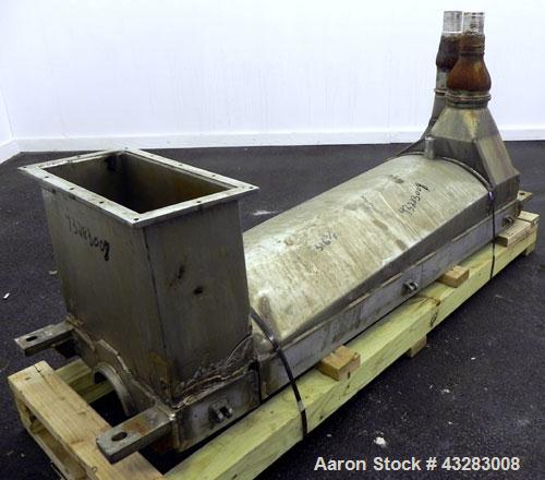 Used- Stainless Steel Alfa Laval Lower Casing