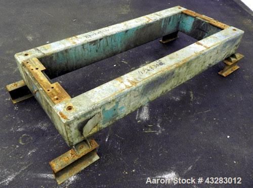 Used- Alfa Laval NX-418 Base Assembly. Carbon Steel.