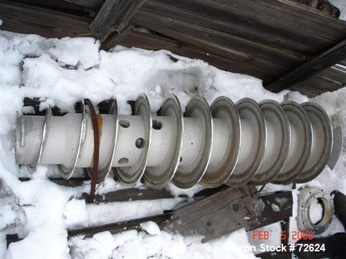 Used- Sharples P-3400 Conveyor, stainless steel