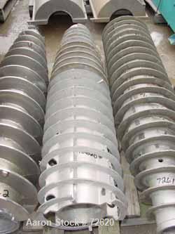 USED: Alfa Laval NX-418 axial conveyor, 55 mm, TM 21 hard facing.