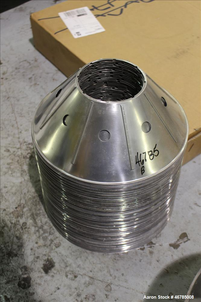 Used- Alfa Laval Disk Stack