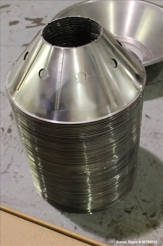 Used- Alfa Laval Disk Stack