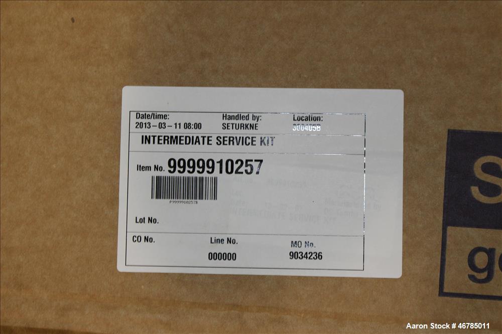 Used- Lot of Alfa Laval Service Kits. Consisting of (2) major service kits, item# 9999920245, (2) major service kits, item# ...
