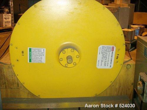 """Unused-Rebuilt Bird Decanter Centrifuge Gearbox, 32"""" x 50"""" centrifuge gearbox, 82:1 ratio, rebuilt in 2000, unused since."""