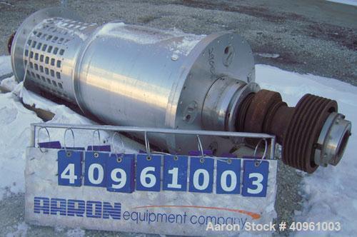 Used- Bird Screen Bowl Centrifuge Parts