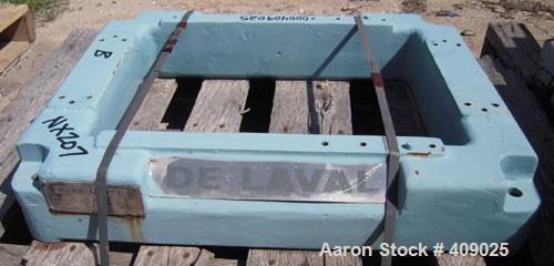 Used- Delaval NX207 Base, Carbon Steel.