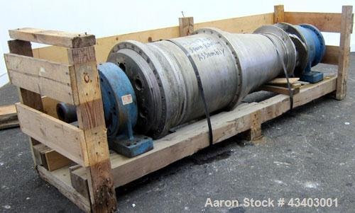 Used- Dorr Oliver Merco Bowl & Rotating Assembly for a Decanter Centrifuge, Model 16L