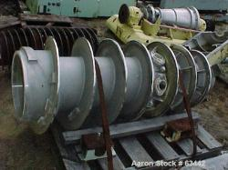 Used- Stainless Steel Sharples P-5000 Super-D-Canter Conveyor