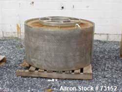 Used- Parts for a Tolhurst Basket Centrifuge