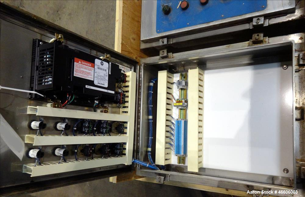 Used-Sharples P-5400 Super-D-Canter Centrifuge controls