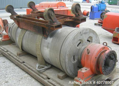 Used-Sharples PM-75000 Super-D-Canter Centrifuge Rotating Assembly, 316/317 stainless steel construction on product contact ...