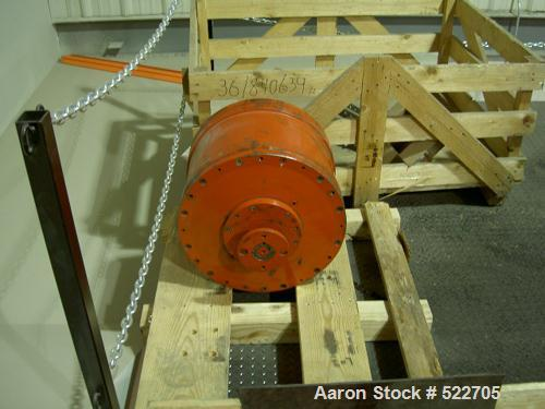 Unused-Rebuilt Sharples Super-D-Canter Centrifuge Gearbox, model P-180 planetary gearbox assembly.