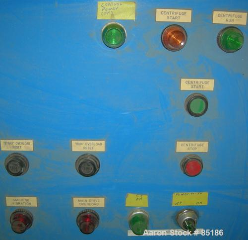 Used- Parts For A Sharples P-3000 Decanter Centrifuge