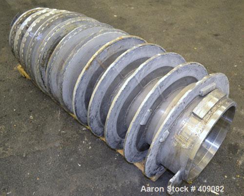 Used- Stainless Steel Sharples P-5000 Conveyor