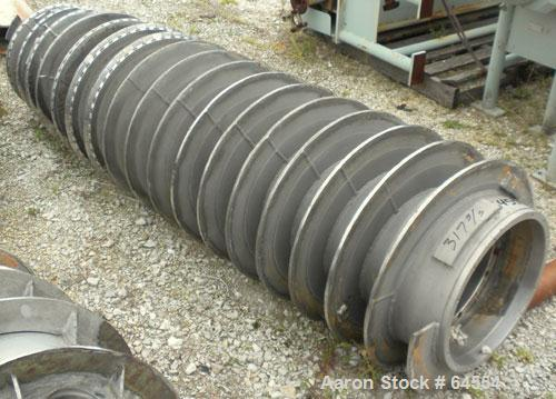 Used- Stainless Steel Sharples P-5400 Super-D-Canter Centrifuge