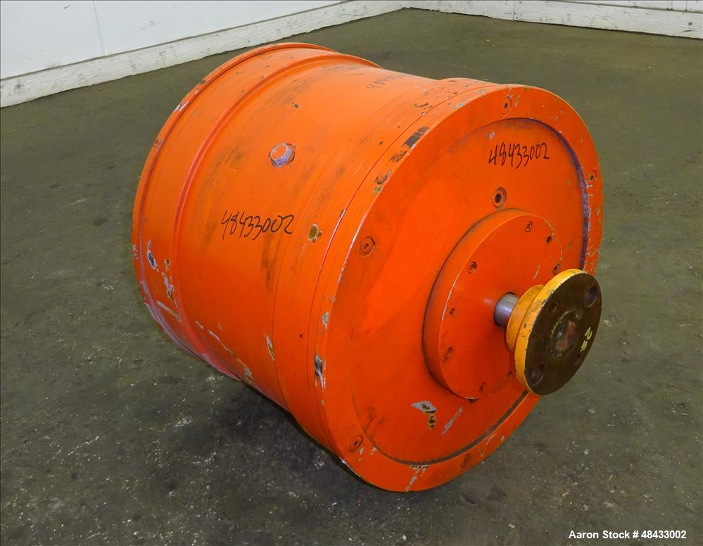 Used- Sharples P180 Super-D-Canter Centrifuge Gearbox, 95/1 ratio