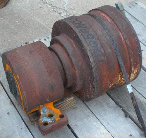 Used- Sharples P-3000 Decanter Centrifuge Gearbox. Approximate 165:1 ratio.