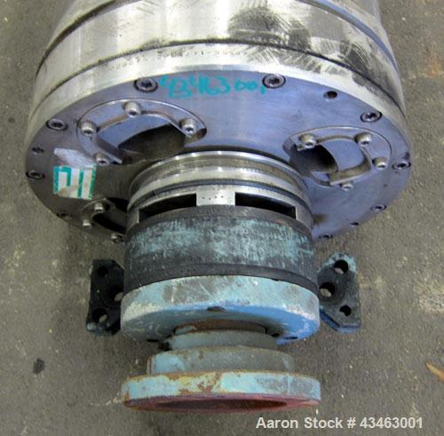 Used- Sharples PM-30000 (same as a P-3400) Super-D-Canter Centrifuge Rotating Assembly,. 316 Stainless steel construction on...