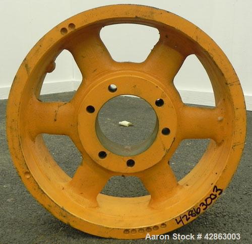 Used- Carbon Steel Sharples P4600 Motor Sheave