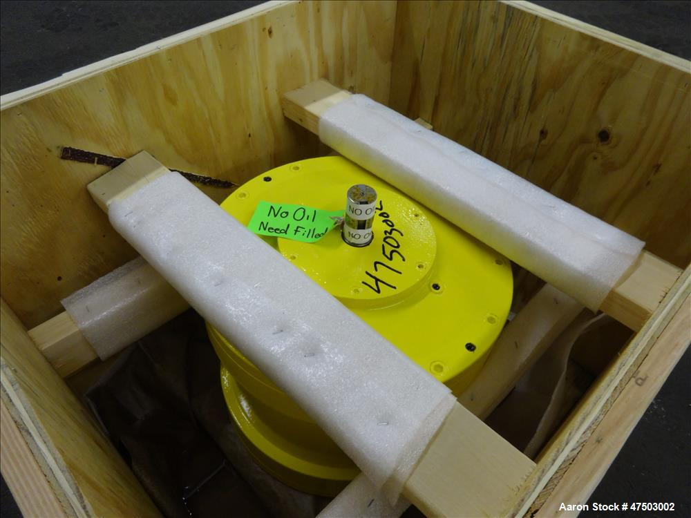Used-Sharples P98 planetary Gearbox,  98/1 ratio