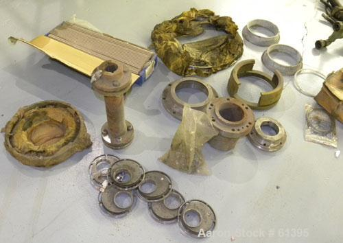 Used- Sharples PM-75000 Decanter Centrifuge Parts
