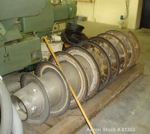 Used- Sharples PM-75000 Super-D-Canter Centrifuge Parts