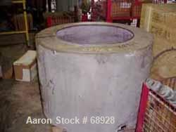 Used- Parts for a Sharples Perforated Basket Centrifuge