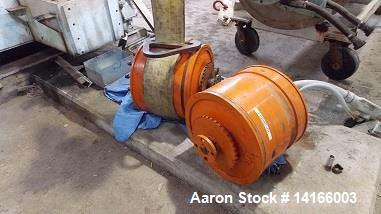 Used- Sharples Model P-95/180 Gearbox. 95:1 ratio, rated 180,000 inch pounds torque, spline shaft available.