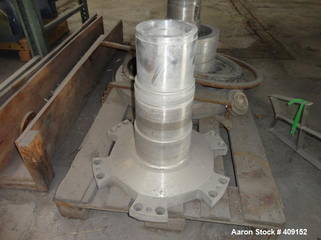 Used-Used Sharples Solids Hub, stainless steel construction.