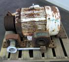 Used- Sharples C-27 Super-D-Hydrator centrifuge base, casing, front door assembly (pressuretite design) with plow, pillow bl...