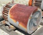 Used- Sharples Peeler Centrifuge Spartan Vector Drive Motor, Model CJB55