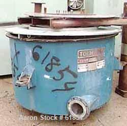 "USED: Tolhurst 48"" x 24"" basket centrifuge curb housing, carbon steel construction with stainless steel cladding (product co..."