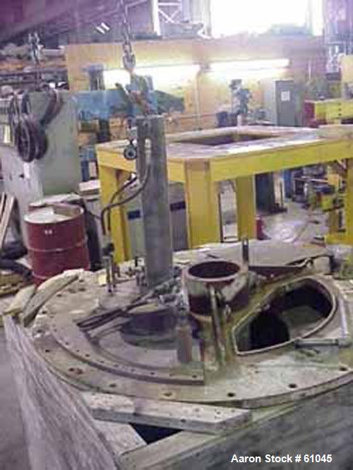 Used- Parts for a Tolhurst Perforated Basket Centrifuge
