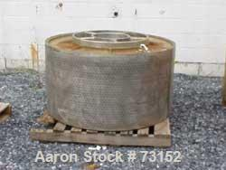 Used- Parts for a Tolhurst Basket Centrifuge