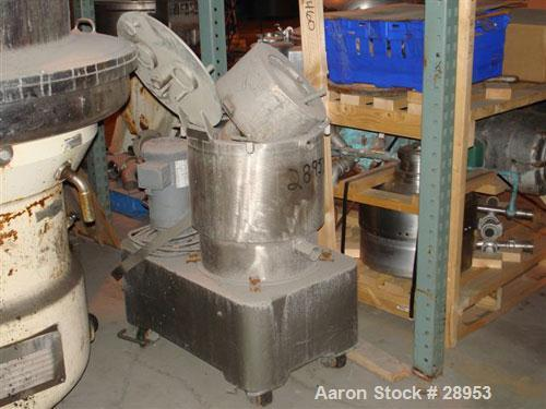Used- Western States Basket Centrifuge Parts