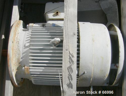 USED: Westfalia 60 hp Disc Centrifuge drive motor, 60 hp, 460/3/60, 3540 rpm, 69 amp, 404TDZ frame.