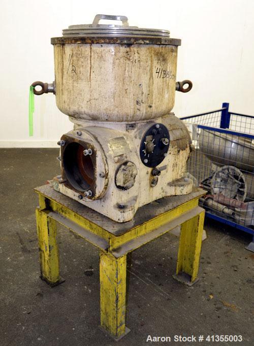 Used- Westfalia TA-60-02-506 Solid Bowl Disc Centrifuge Frame Assembly