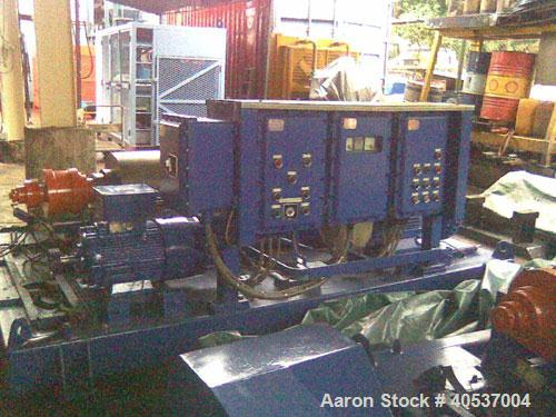 Unused-Used: Alfa Laval DMNX-418-31G solid bowl decanter centrifuge. 316 stainless steel construction on product contact are...
