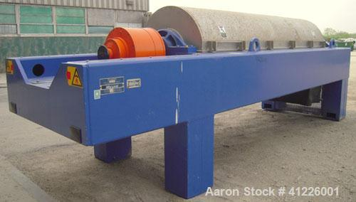 Used- Alfa Laval Solid Bowl Decanter Centrifuge, Model ALDEC 606. 2205 stainless steel (product contact areas), maximum bowl...