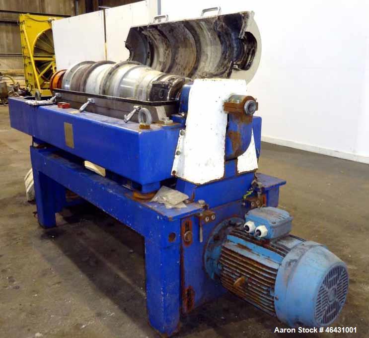 Used-Alfa Laval Aldec-404 Solid Bowl Decanter Centrifuge
