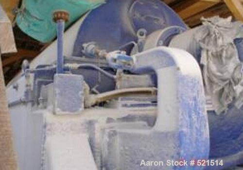 USED: Alfa Laval Aldec 706 decanter centrifuge, stainless steel construction on product contact areas. Max bowl speed 2800 r...