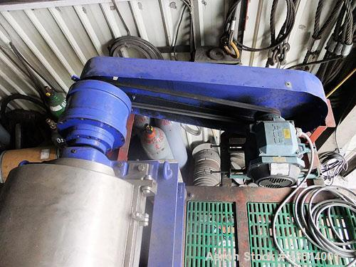 Used-Alfa Laval AVNX-314B-31 Sold Bowl Decanter Centrifuge.  316 Stainless steel (on product contact parts), max bowl speed ...