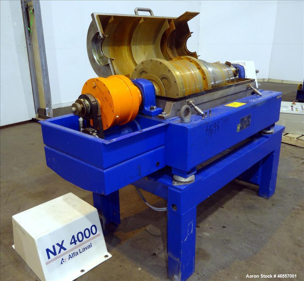 Used-Alfa Laval AVNX-4030 (Same as a NX-414) Decanter Centrifuge